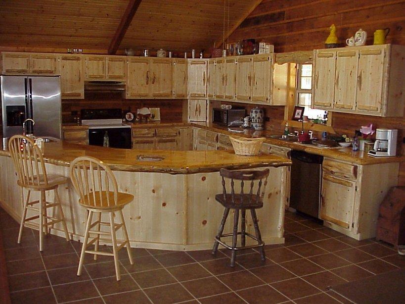 Log Cabin Kitchen Decor