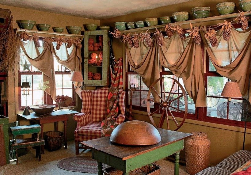 Primitive Country Home Decor