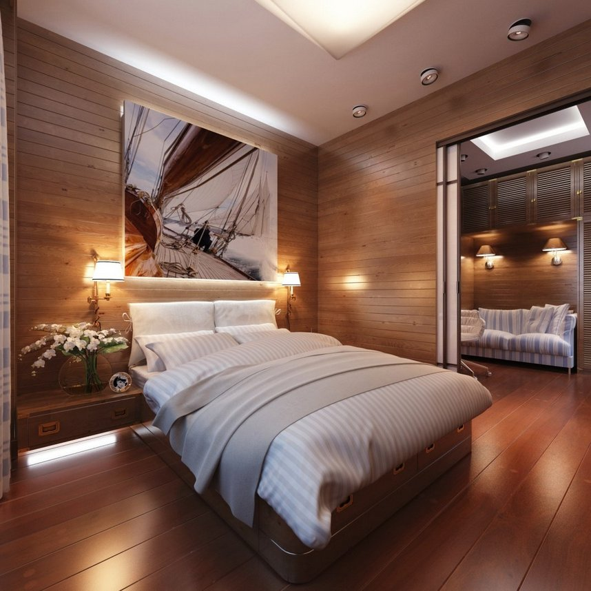 Cabin Bedroom Decorating Ideas