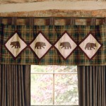 Cabin Decor Curtains