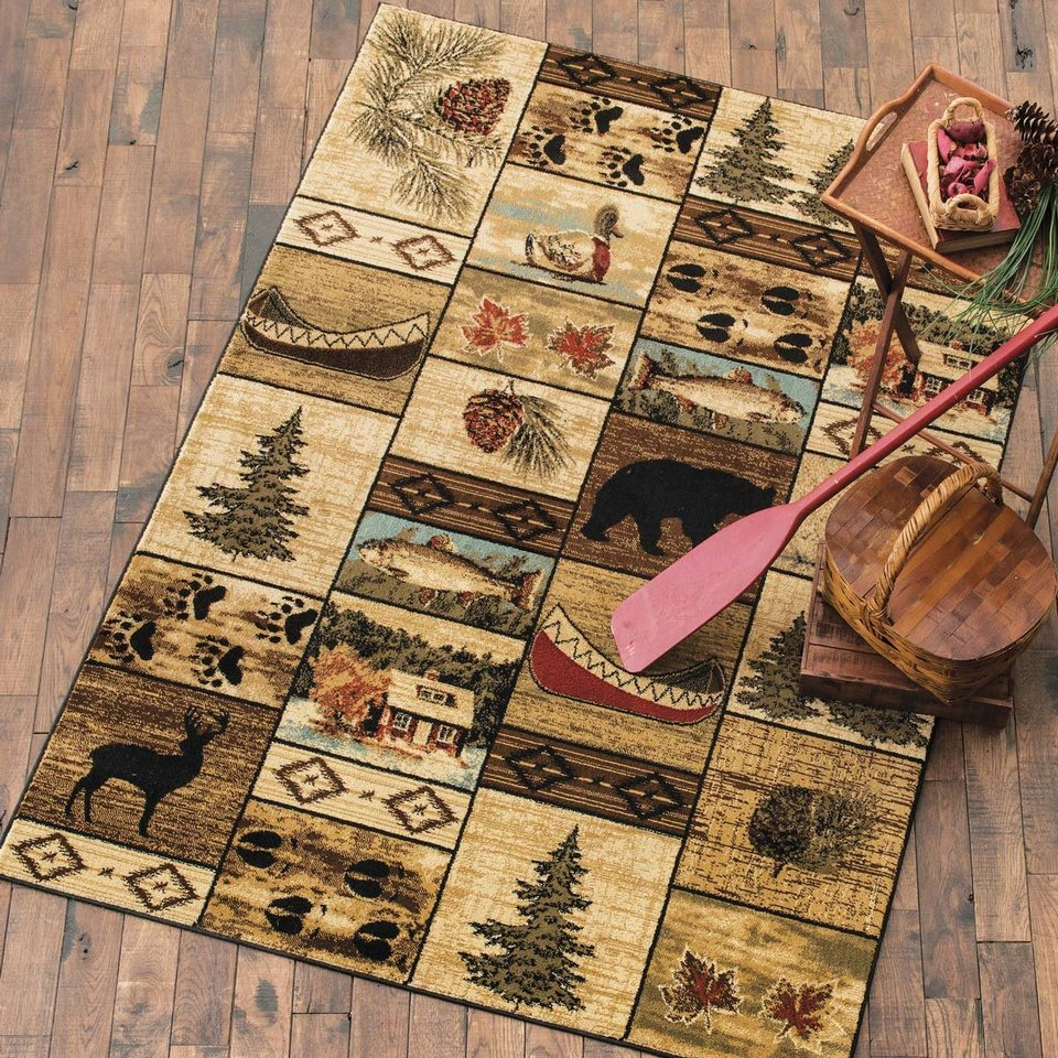 Cabin Decor Rugs