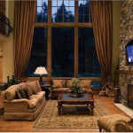 Cabin Living Room Decor
