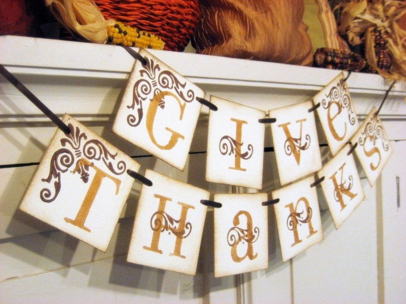 Country Thanksgiving Decorations