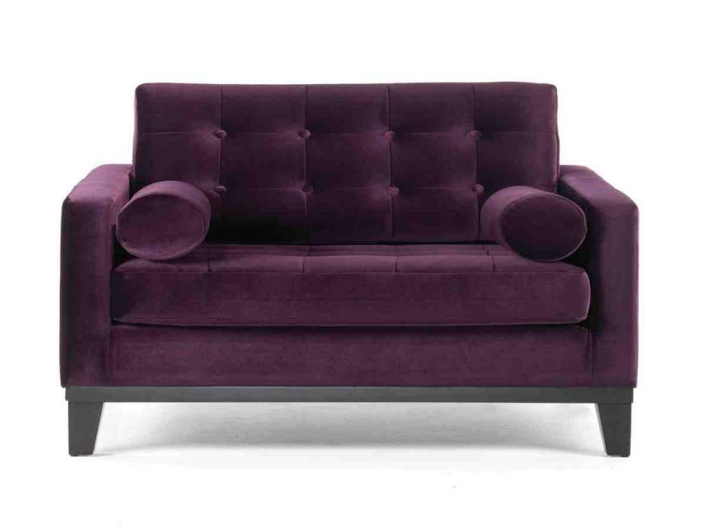 Purple Club Chair