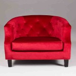 Red Club Chair