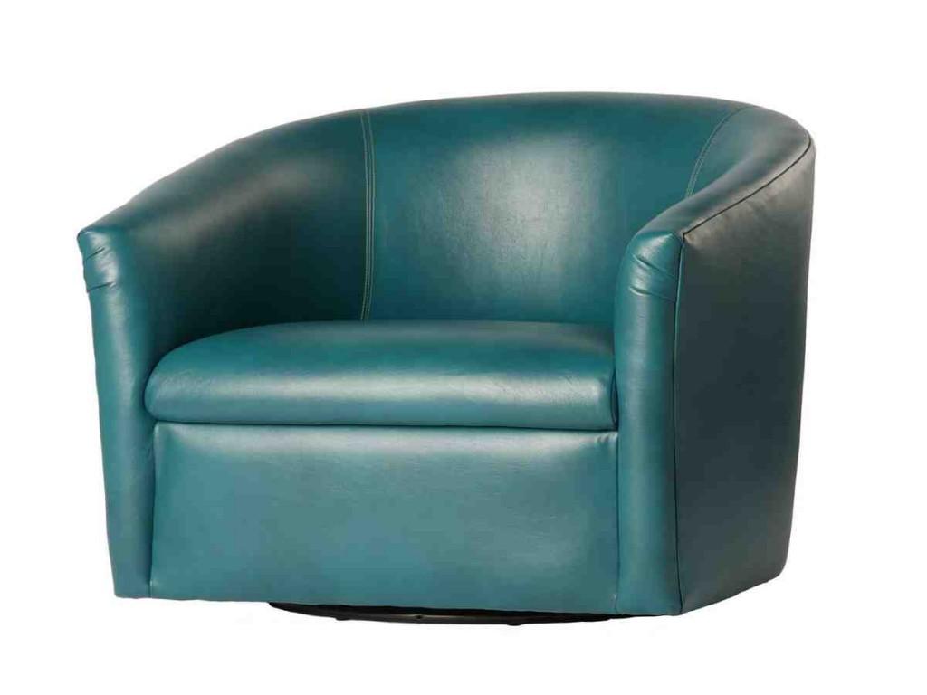 Swivel Barrel Club Chair