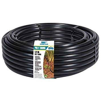 Black Irrigation Tubing