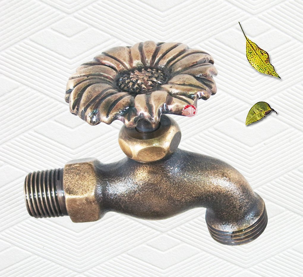 Brass Outdoor Faucet