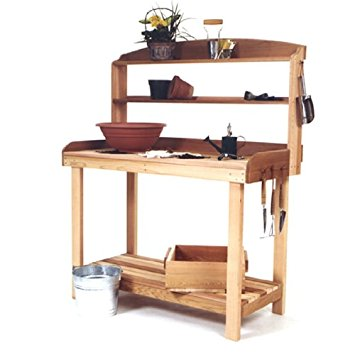 Cedar Potting Table