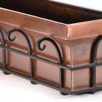 Copper Wall Planter
