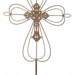 Decorative Metal Garden Stakes