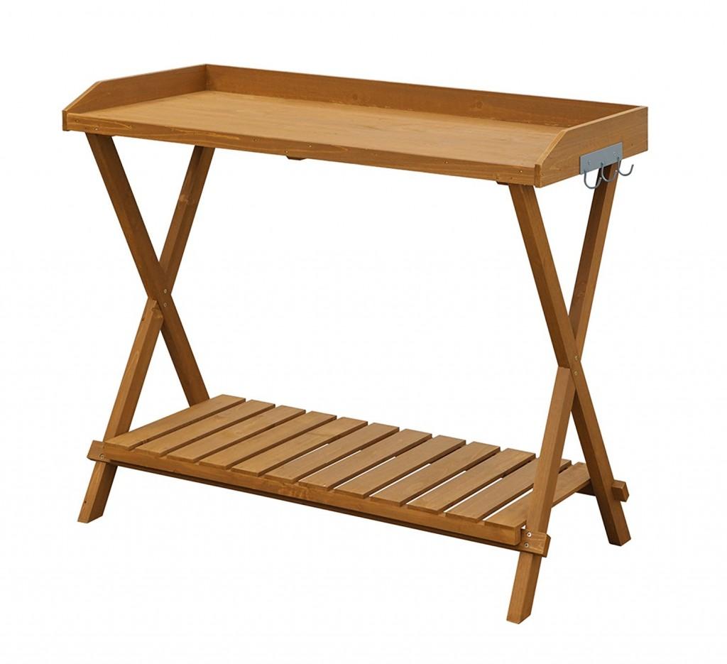 Folding Potting Bench