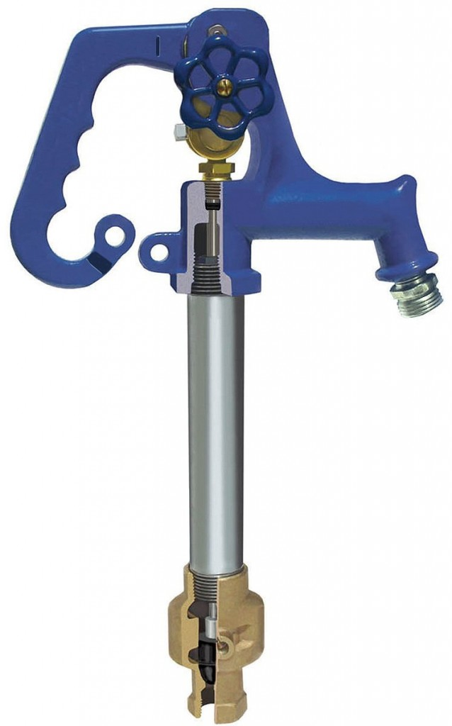 Frost Proof Outdoor Faucet