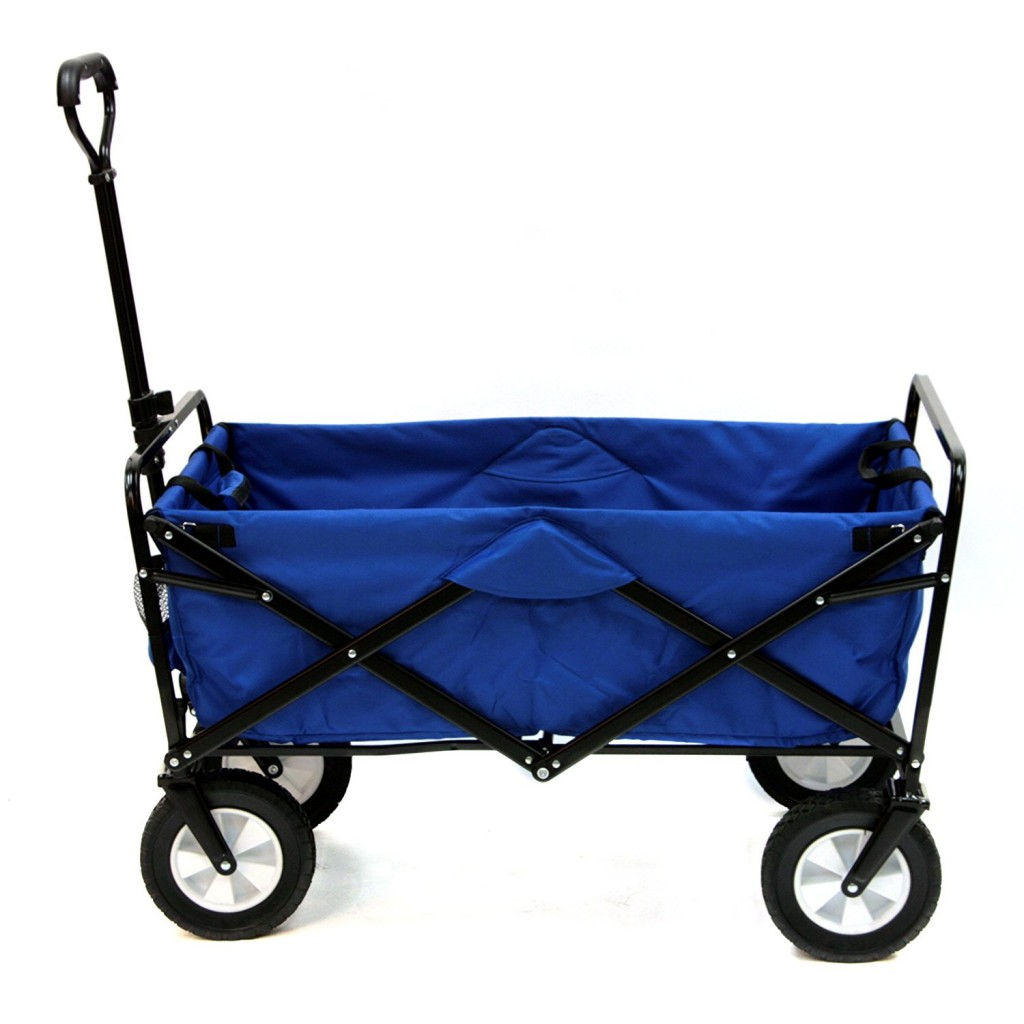 Garden Utility Cart With Wheels