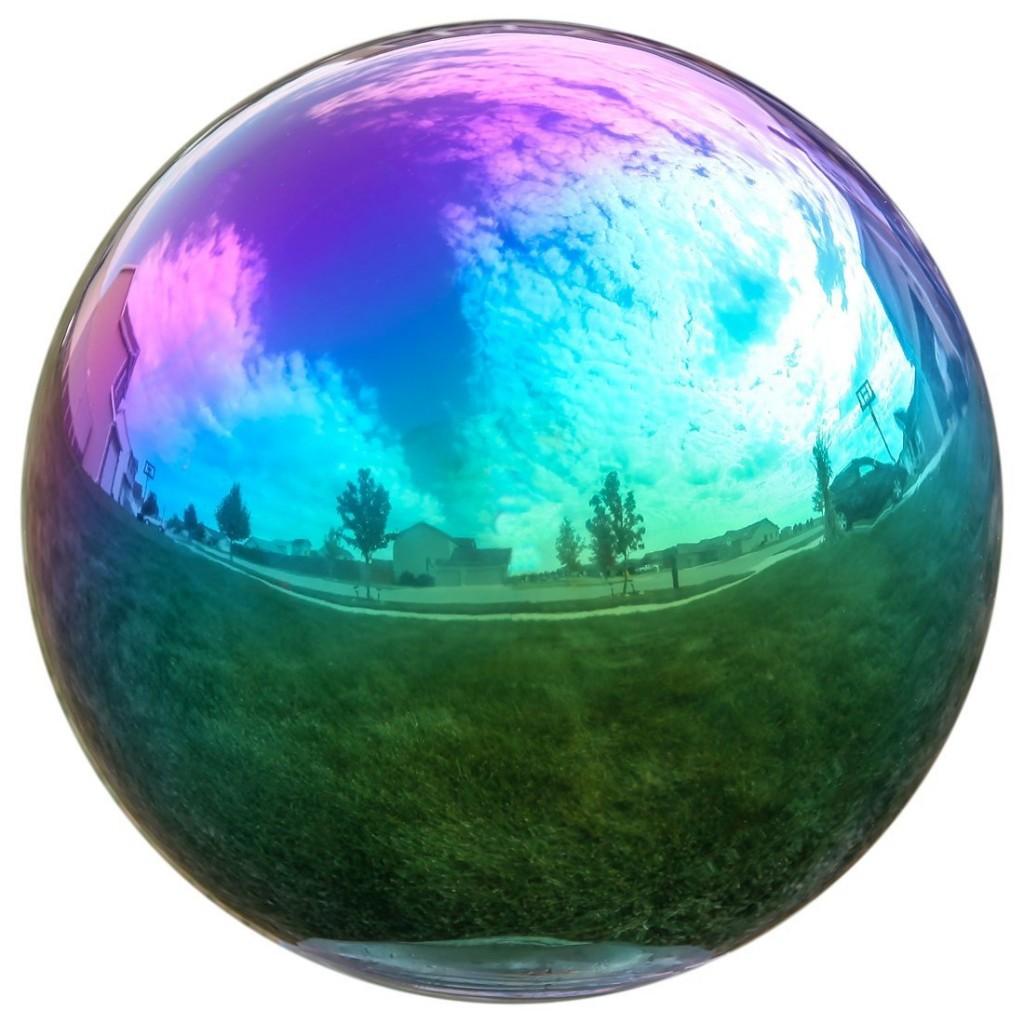 Gazing Ball 12 Inch