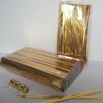 Gold Twist Ties