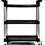 3 Shelf Utility Cart