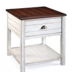 Bellhaven Wood Rectangular End Table