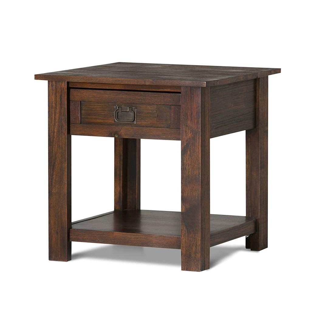 End Table Simpli Home Monroe