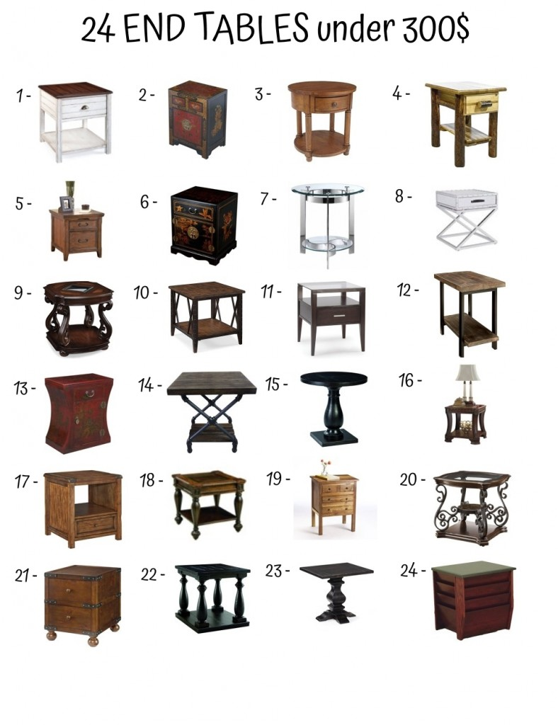 End Table Under 300