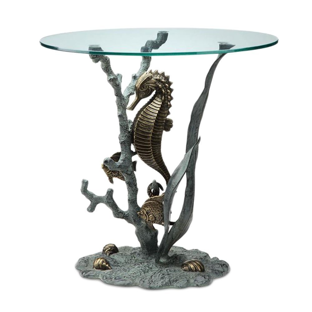 Home Seahorse End Table