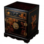 Mandarin Black End Table
