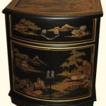 Oriental End Table