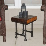 Barn Wood End Tables