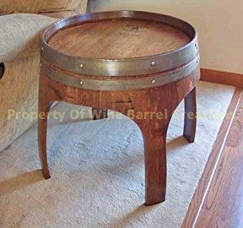 Barrel End Table
