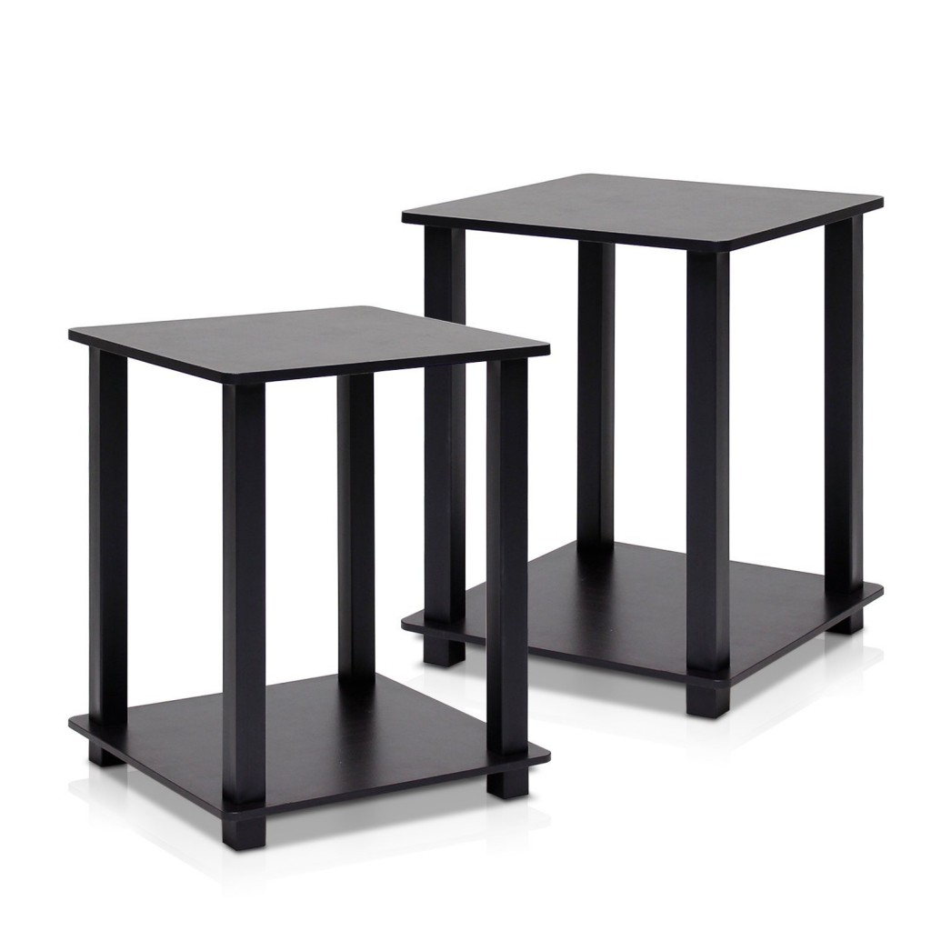 Black End Table Set