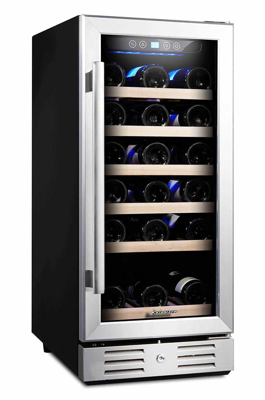 Built In Wine Cooler Decor Ideas