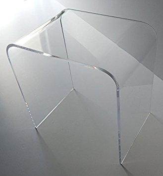 Clear End Table
