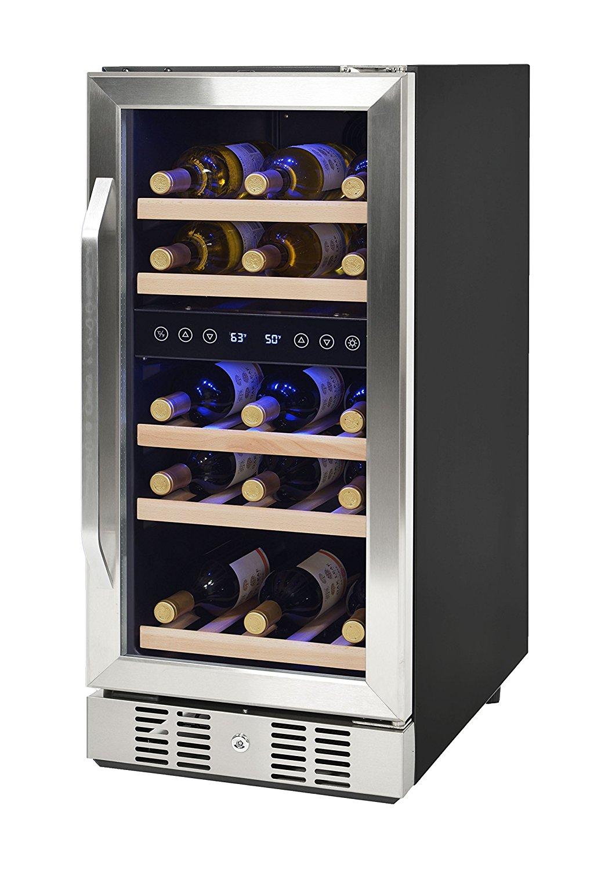 Compressor Wine Cooler Dual Zone Decor Ideasdecor Ideas