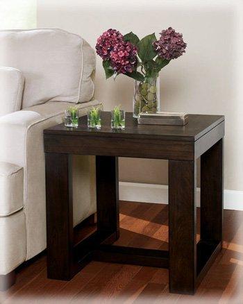 Dark Brown End Tables