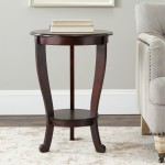 Dark Cherry End Tables