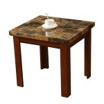 Faux Marble End Tables