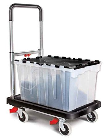 Folding Utility Cart With Wheels