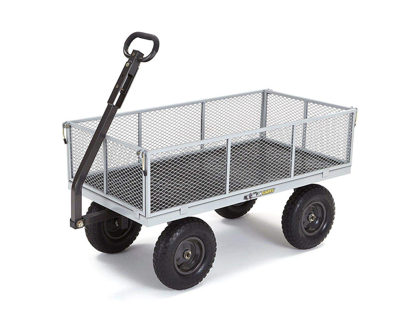 Gorilla Carts Heavy Duty Utility Cart Decor Ideas