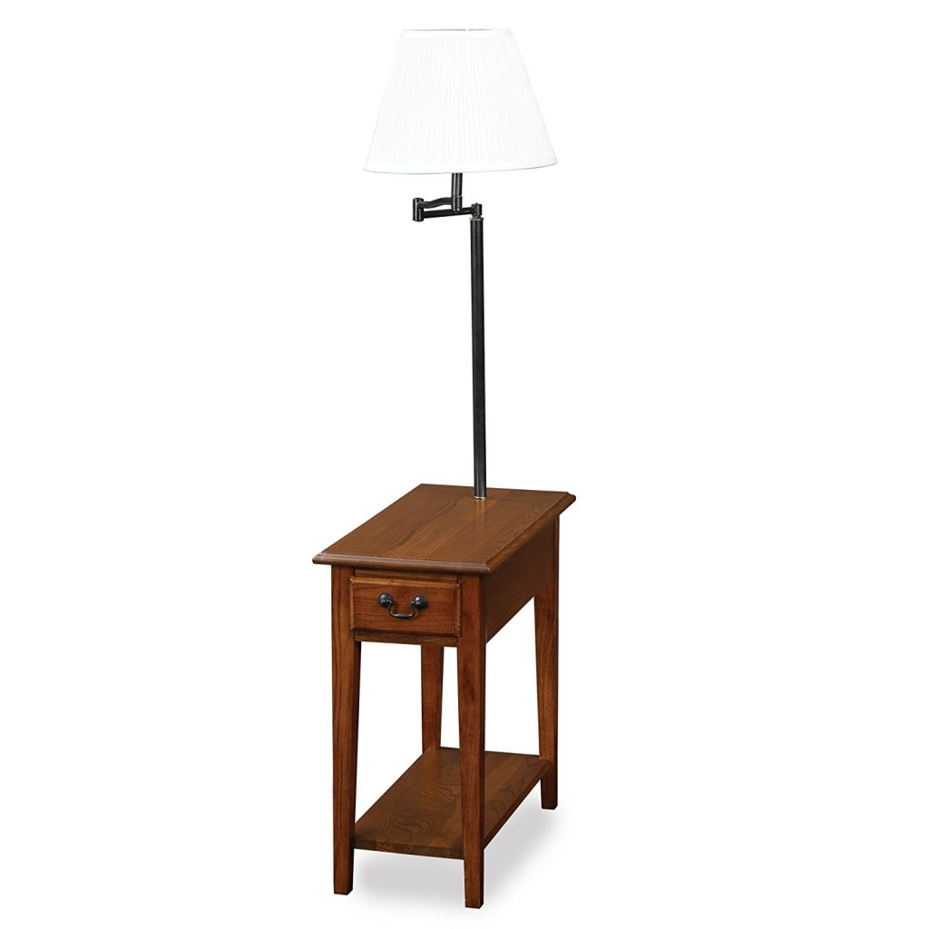 Lamp End Table Combo