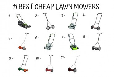 11 Best Cheap Lawn Mowers