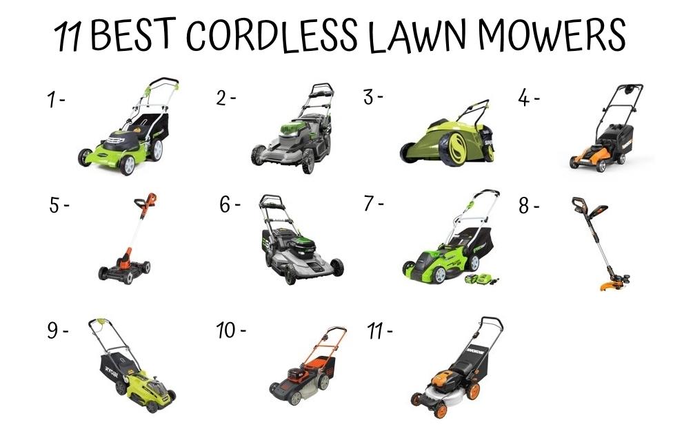 11 Best Cordless Lawn Mower