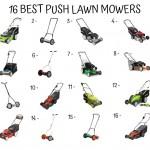 16 Best Push Lawn Mower