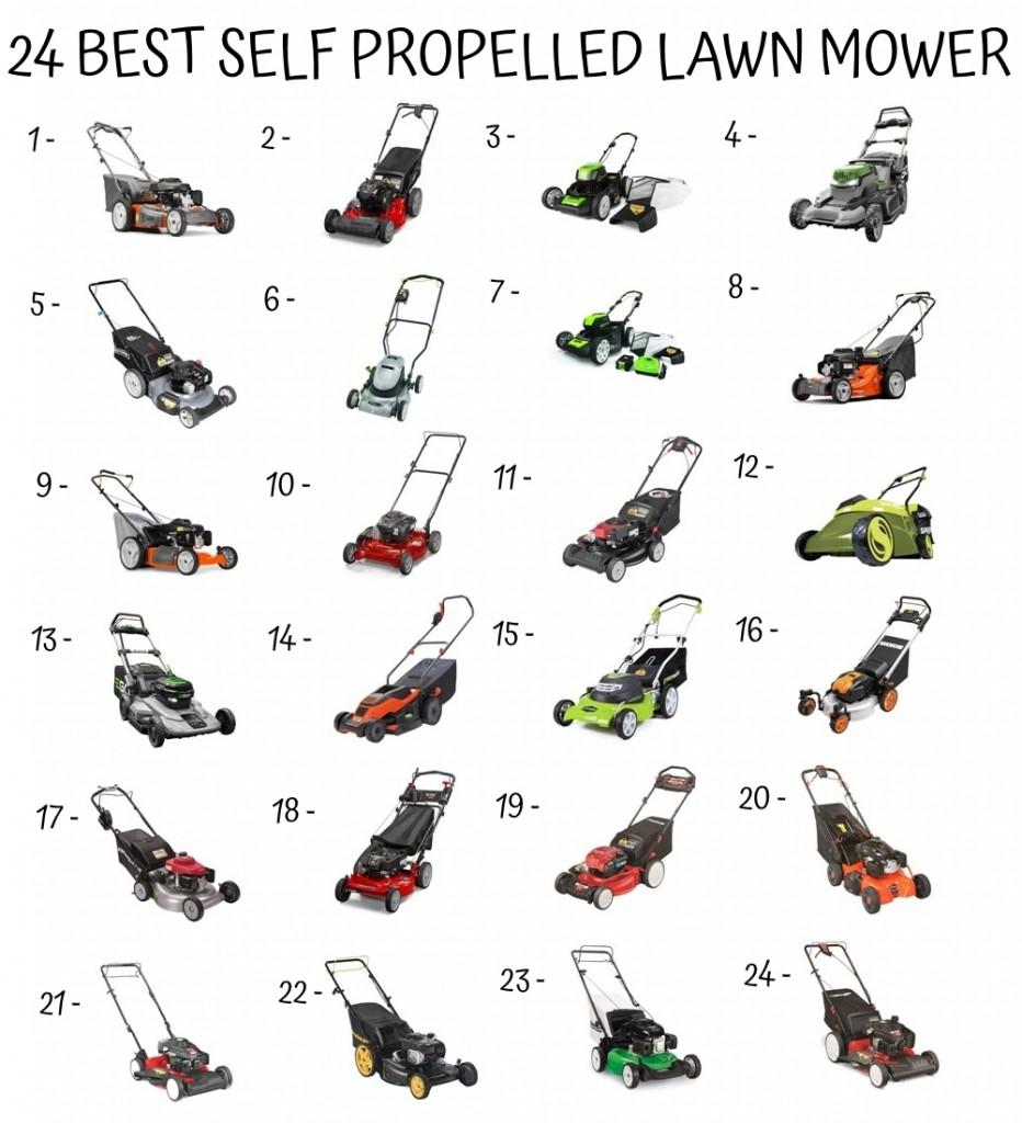 24 Best Self Propelled Lawn Mower