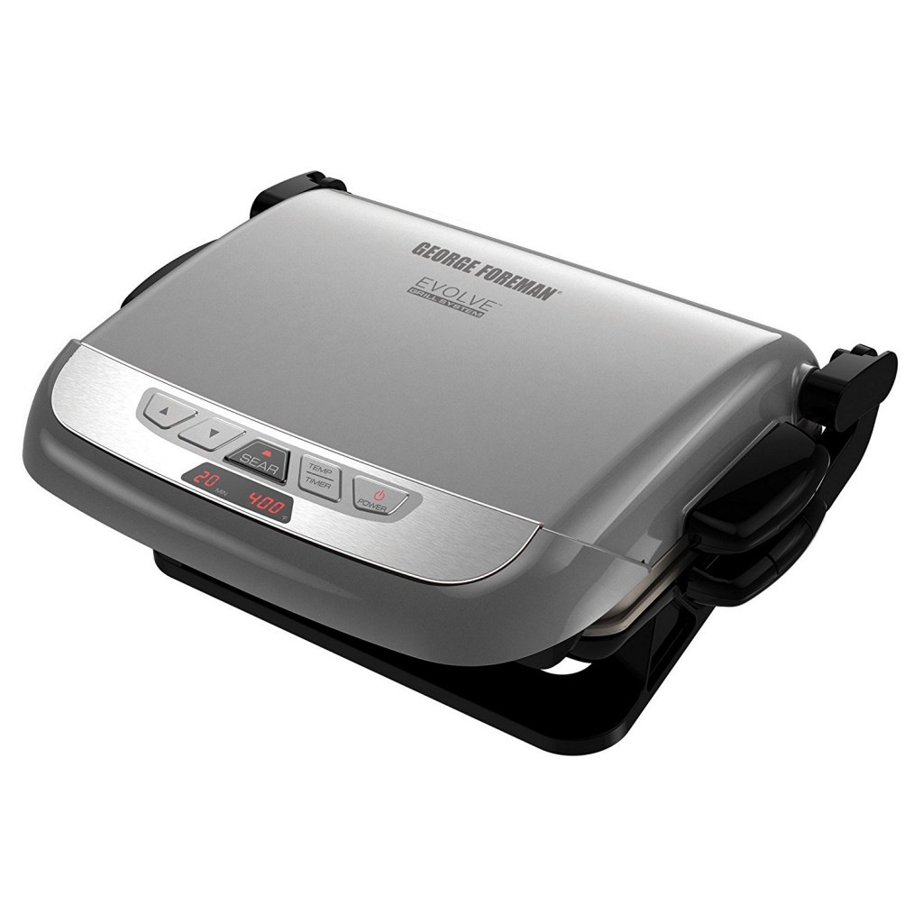 Cooking Steak On George Foreman Grill