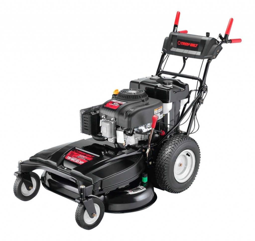 Electric Start Gas Lawn Mower