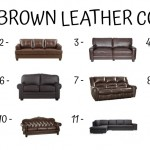 11 Best Brown Leather Couches