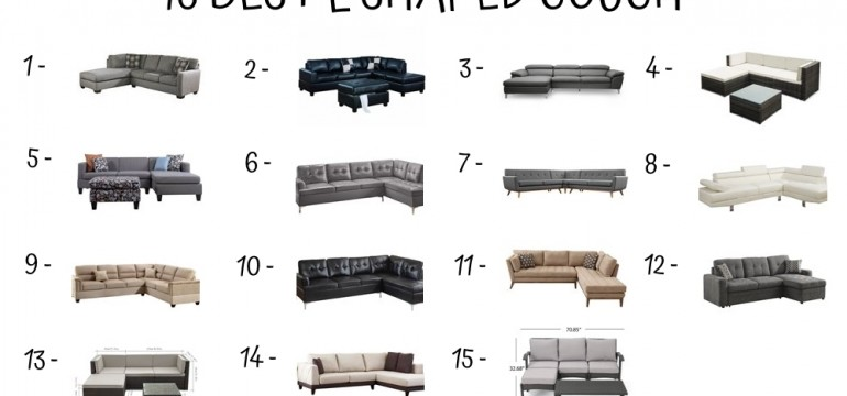 15 Best L Shaped Couch