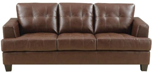 Brown Leather Couch Living Room