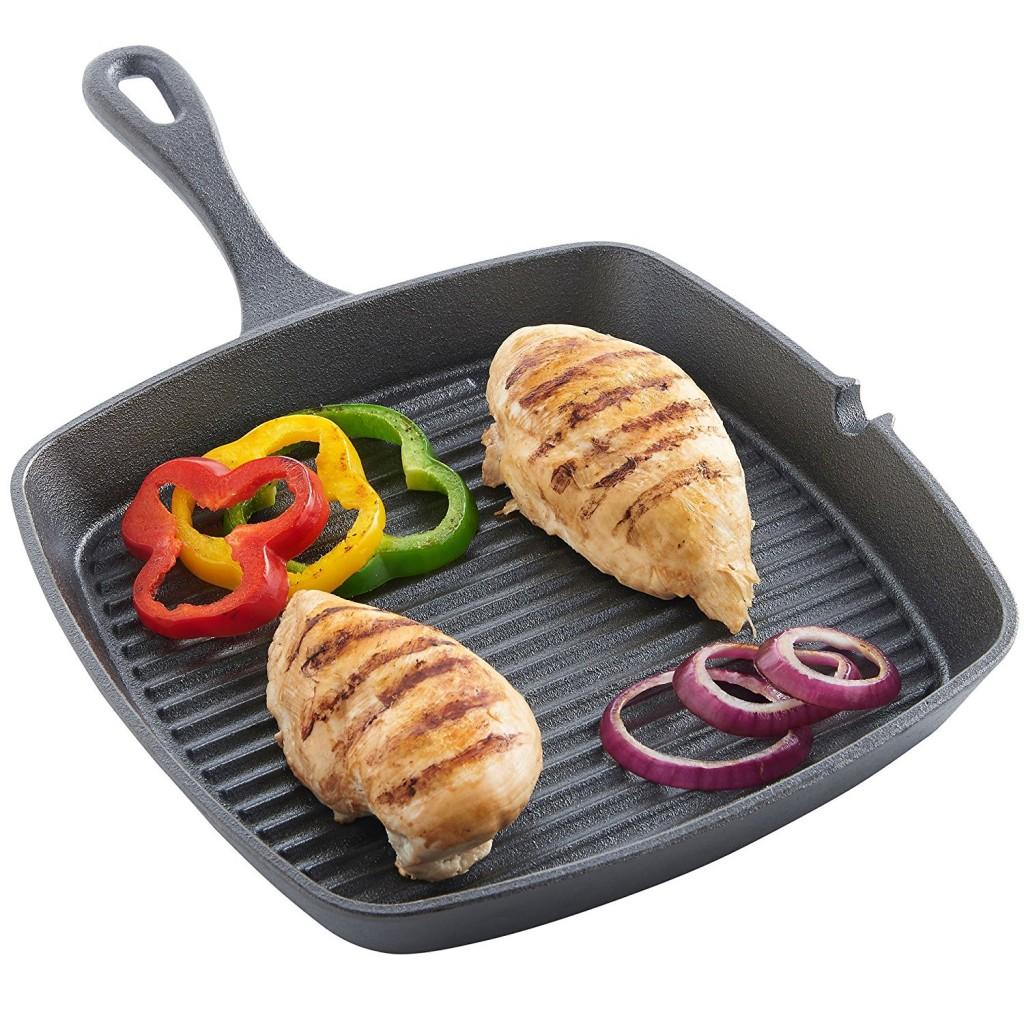 Cast Iron Grill Pan Steak