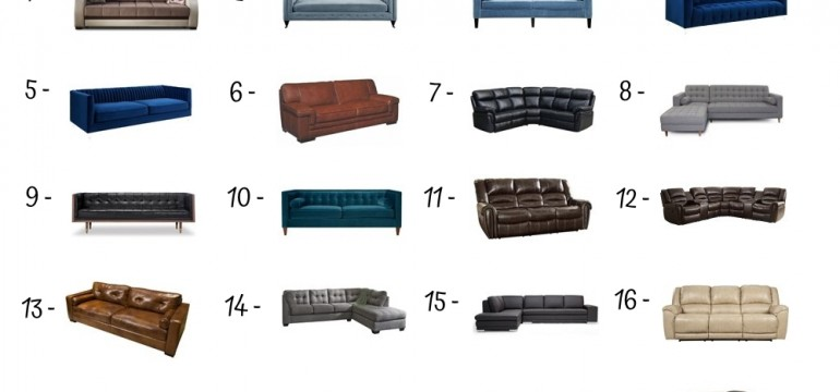 20 Best Living Room Sofa Under 2500$